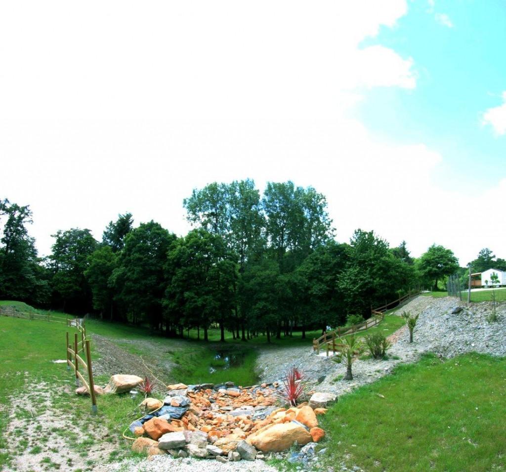 camping du lac de guerledan